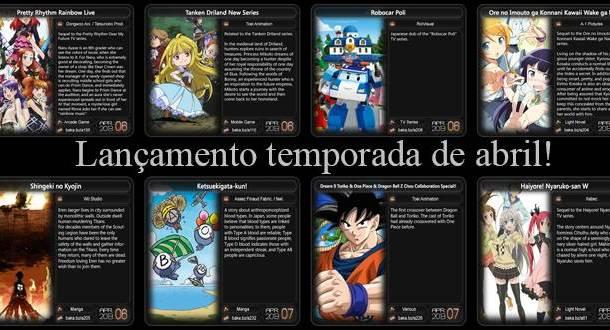 Animes Temporada Abril 2013