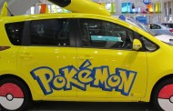Toyota apresenta carro de Pikachu em Tóquio!