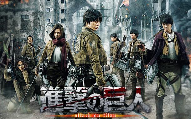 Shingeki no Kyojin - Novo trailer do live-action!