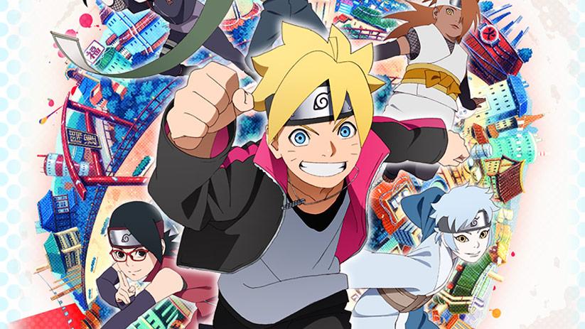 Boruto: Naruto Next Generations ganha nova imagem promocional!