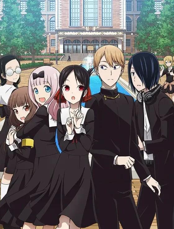 Kaguya-Sama: Love is War Season 2 key visual