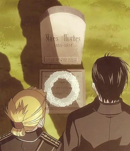 Maes Hughes grave