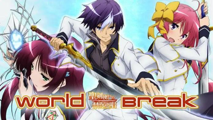 World Break: Aria of Curse for a Holy Swordsman anime