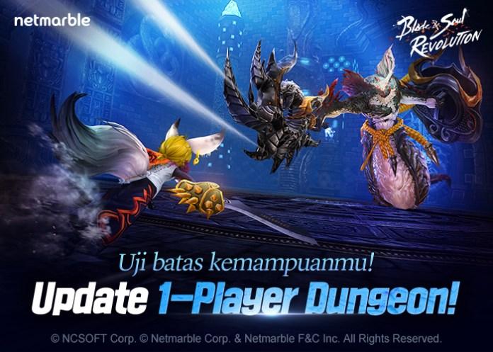 [blade&soul revolution] festival cherry blossom & 1 player dungeon hadir