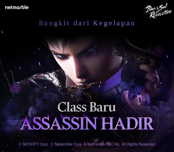 """[blade&soul revolution] rayakan ulang tahun pertama dengan class baru """"assassin"""" dan festival starlight (2)"""
