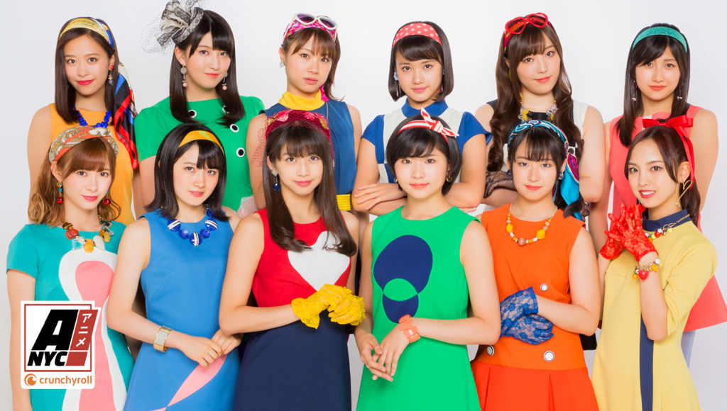 Image result for morning musume at animenyc