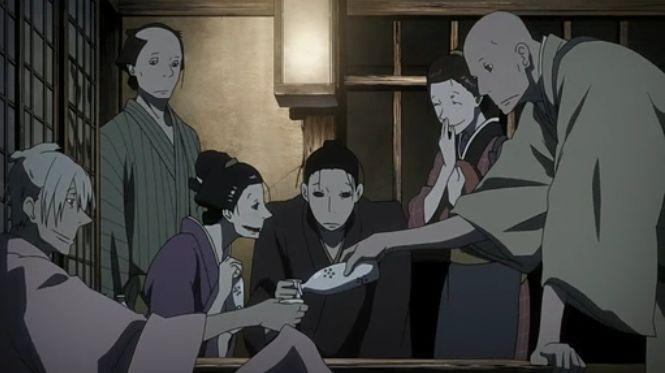 特徴ある絵は中澤一登さんのデザイン「さらい屋 五葉」をアニメを見始めたおっさんが見てみた!【レビュー・感想・評価★★★☆☆】 #さらい屋五葉