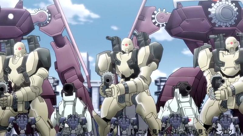 全般的にダサイんだけど、特に敵のロボットがダサい。 「クロックワーク・プラネット」をアニメを見始めたおっさんが見てみた!【感想・レビュー・評価★☆☆☆☆】 #クロックワークプラネット #クロプラ