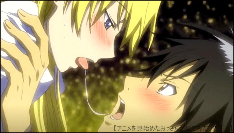 エリカとのキス。カンピオーネ! アニメ はキスシーンも多い&エロイ 【これはエロイ】「カンピオーネ!」をアニメを見始めたおっさんが見てみた!【評価・レビュー・感想★★★☆☆】 #カンピオーネ! #campi_anime