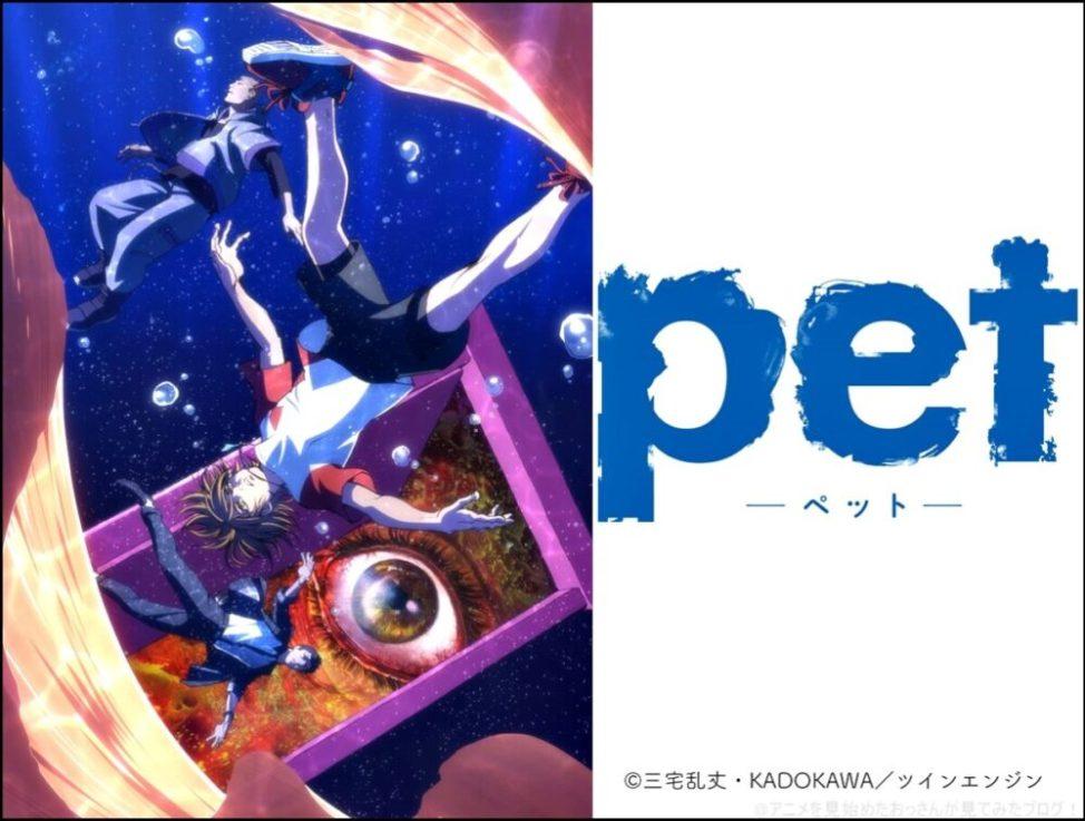 【面白い】「pet(ペット)」をアニメを見始めたおっさんが見てみた!【評価・レビュー・感想★★★★☆】#pet_anime #pet