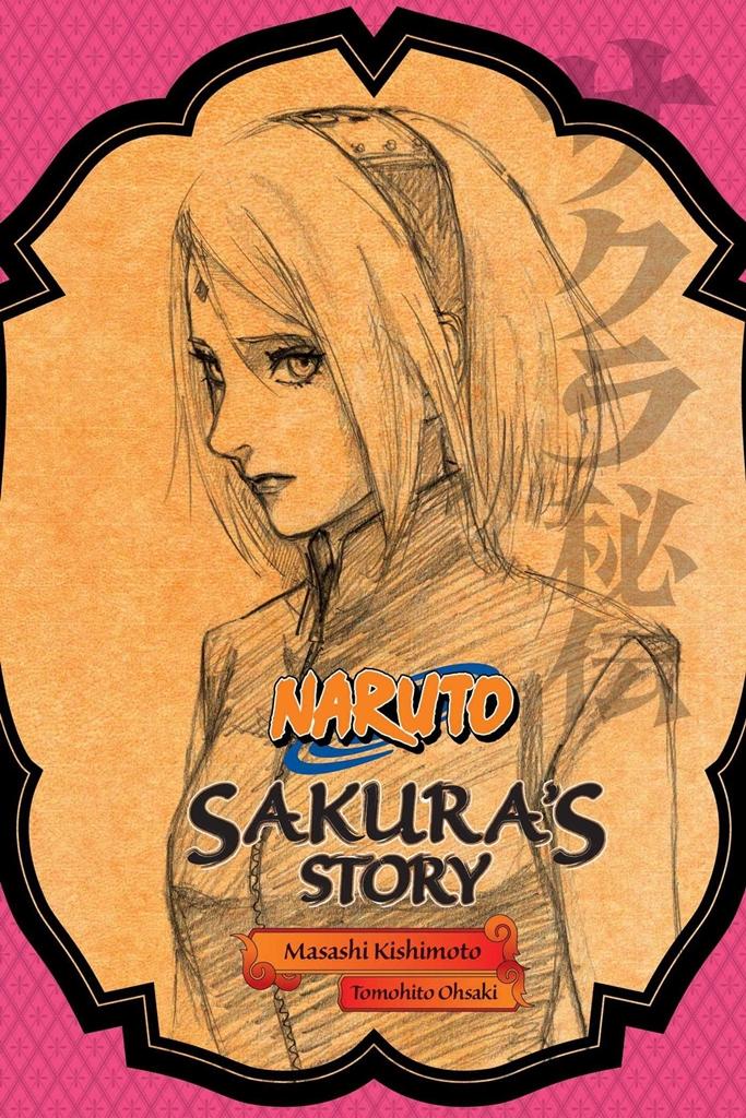 Capa da novel da Sakura