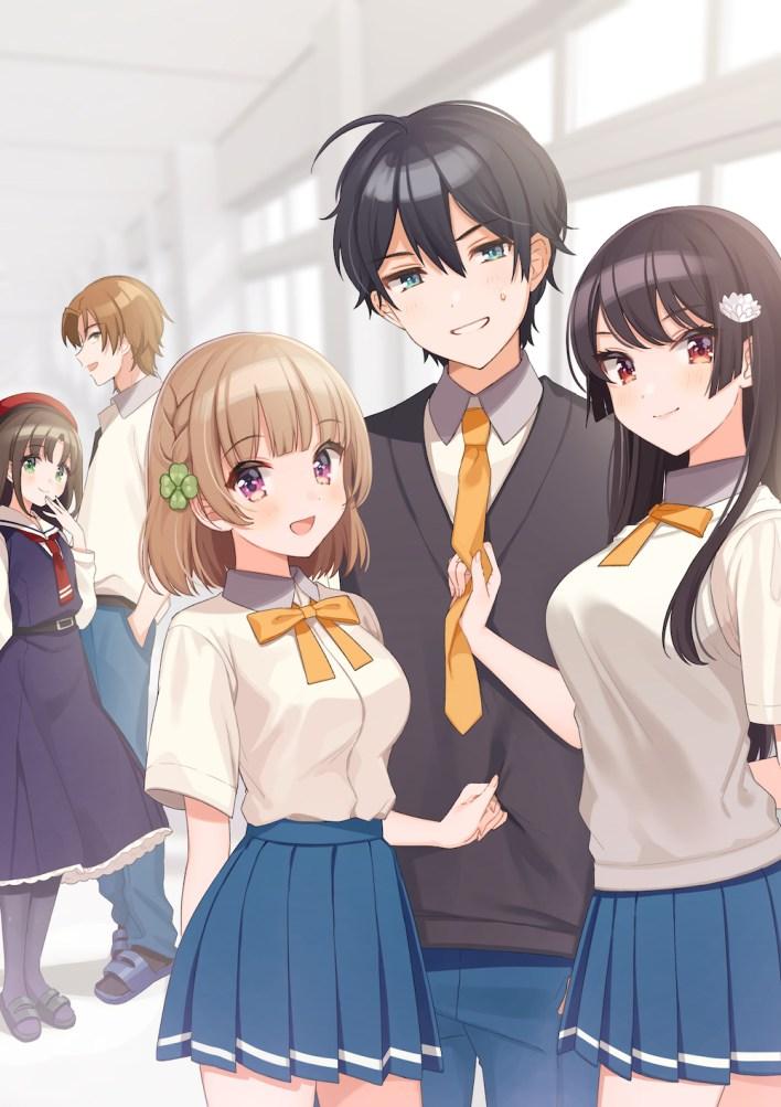 Osananajimi ga Zettai ni Makenai Love Come Dapatkan Adaptasi Anime