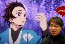 Kimetsu no Yaiba jadi film ketiga terlaris, makoto shinkai ucapkan selamat
