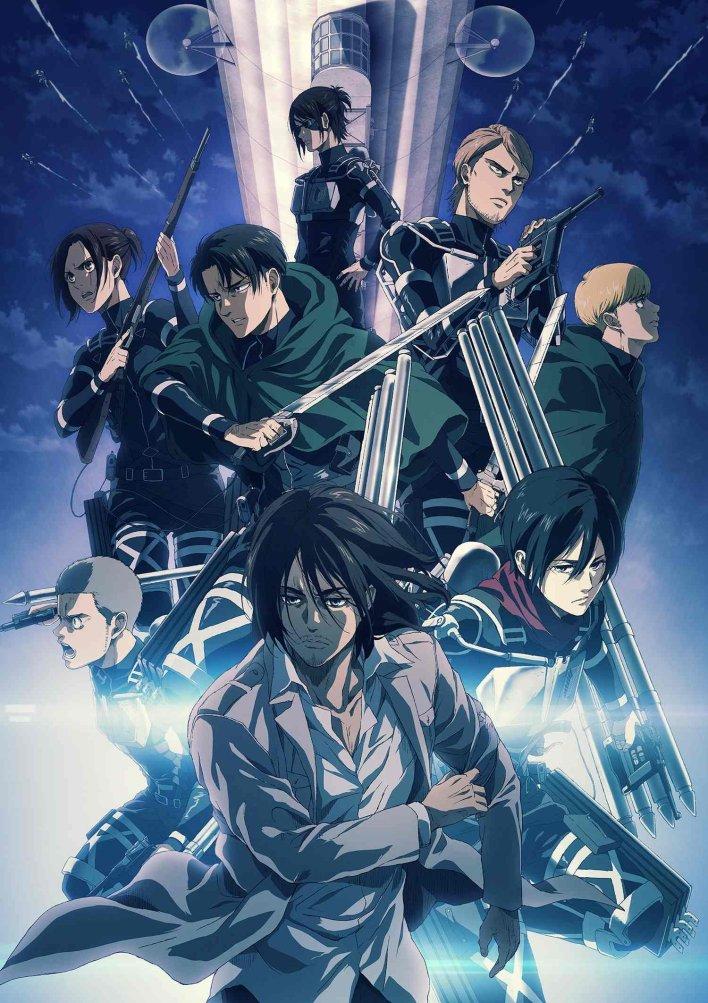 Attack on Titan Season 4 Ungkap Visual Baru dan Penundaan Episode 5 Anime