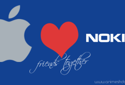apple and nokia