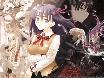 Konachan.com - 29543 fate_stay_night illyasviel_von_einzbern leysritt matou_sakura rider saber saber_alter sella tohsaka_rin