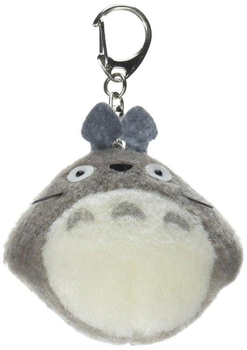 Totoro Large Plush Keychain