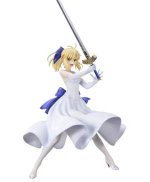 Saber White Dress Figure