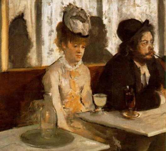 Degas' L'Absinthe (1875-6)