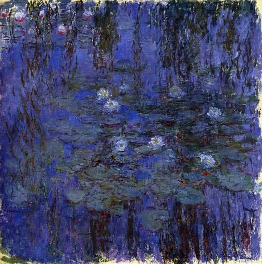 Monet 5 (Blue Water Lilies)