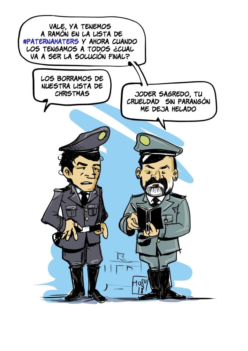 EL PSOE DE PATERNA CONFECCIONA UNA LISTA NEGRA DE VECINOS
