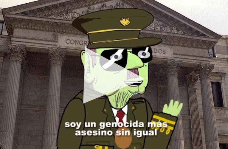 La exhumación de Franco en video-clip