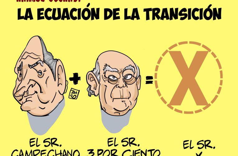 El trío de la corrupción en la transición.