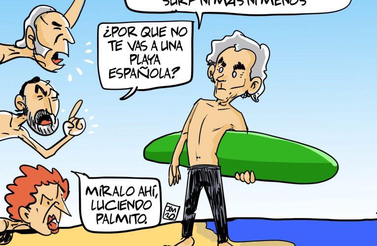 Fernando Simón se va a la playa y  la caverna enloquece