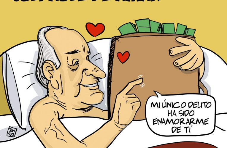 Juan Carlos culpable de amar