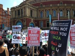 Gaza Protests London