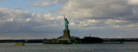 libery statue island