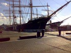 NY tea clipper boat