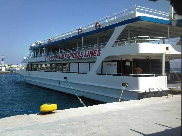 COS Bodrum express lines boat