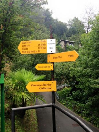 Locarno Walking Sign