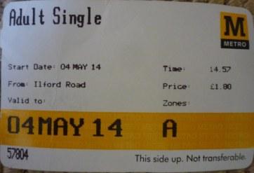 Metro Ticket Newcastle