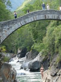bridge Ponte dei Salti divers