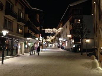 St Anton Winter Town Center