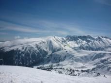 winter paraglider bansko