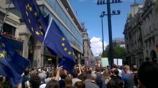 PRO EU Demontration London