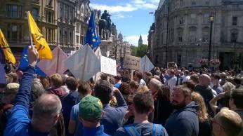 Whitehall EU March Europe