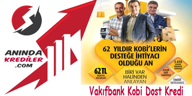 Vakıfbank Kobi Dost Kredi