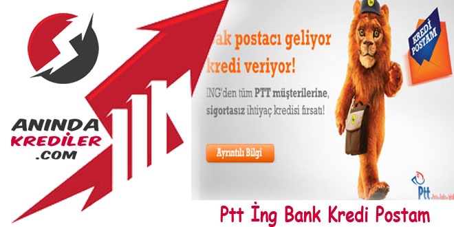 Ptt İng Bank Kredi Postam