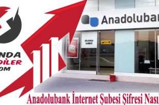 Anadolubank İnternet bankacılığı