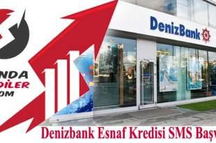 Denizbank Esnaf Kredisi SMS