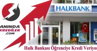 Halk Bankası Eğitim Kredisi 2018