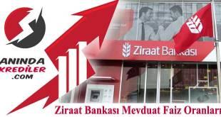 Ziraat Bankası Mevduat Faiz Oranları