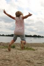 Elise springt