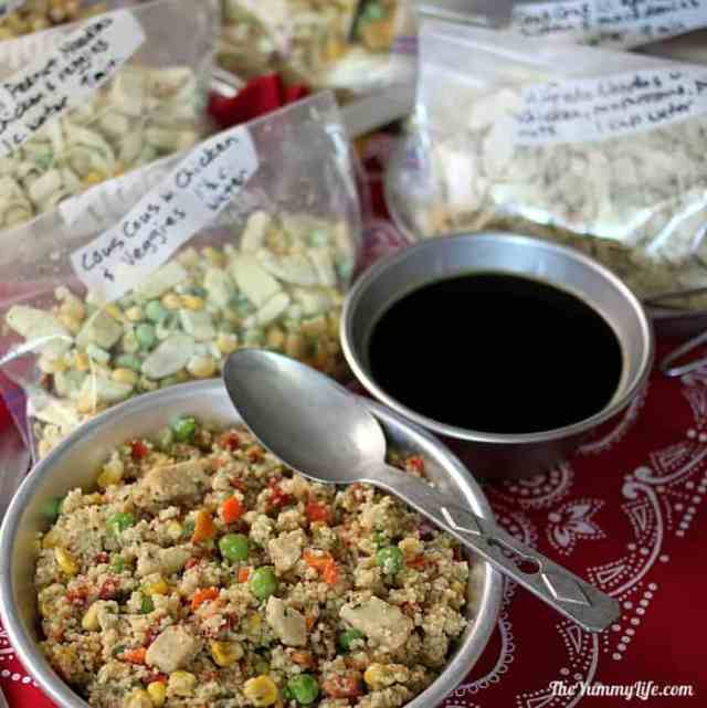 6 Instant Meals-On-The-Go. Just add boiling water! from TheYummyLife.com