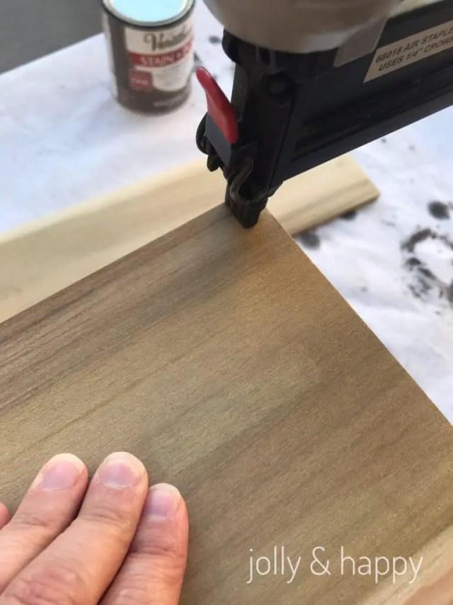 Easy DIY wooden lantern