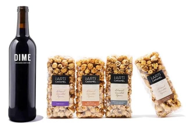 Best Christmas Gift Baskets 2019: Winc Wine & Popcorn 2020